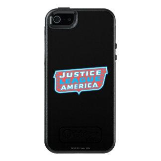 Gerechtigkeits-Liga von Amerika-Logo OtterBox iPhone 5/5s/SE Hülle