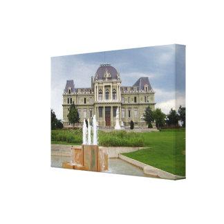 Gerechtigkeits-Palast, Lausanne Leinwanddruck