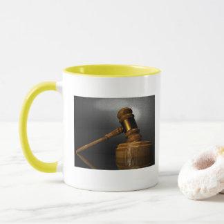 Gerechtigkeits-Rechtsanwaltsbüro personifizieren Tasse