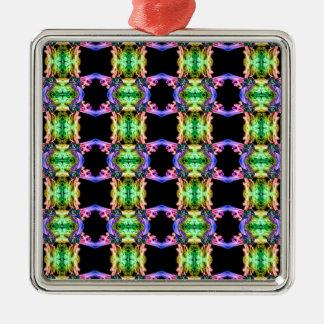 Gerecycelter Rauch 0917 (12) Silbernes Ornament