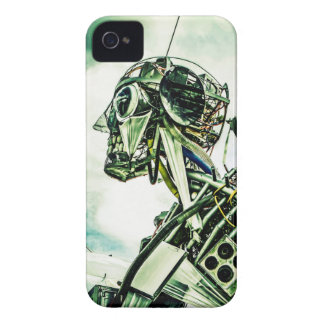 Gerecycelter Roboter iPhone 4 Cover