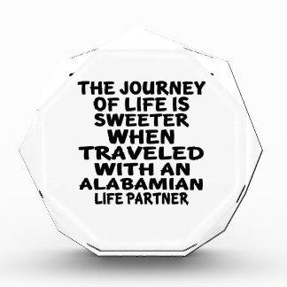 Gereist mit einem Alabamian-Leben-Partner Auszeichnung
