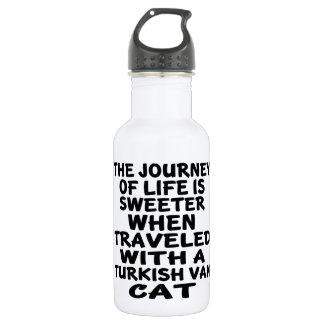 Gereist mit Turkish Van Cat Trinkflasche