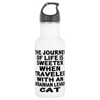 Gereist mit Ukrainer Levkoy Katze Trinkflasche