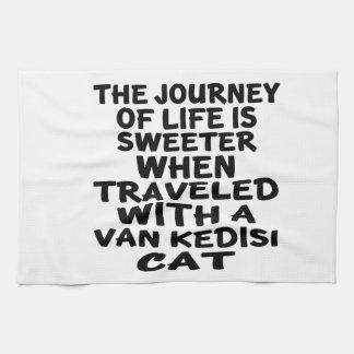 Gereist mit Van Kedisi Cat Handtuch