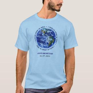 Gereist um den WeltBar-Schläger Mitzvah T-Shirt