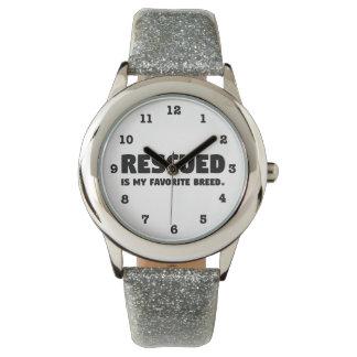Gerettet meine Lieblingszucht Armbanduhr