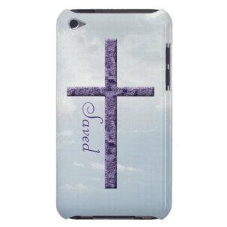 Gerettete-Amethyst religiöses Kreuz Case-Mate iPod Touch Hülle
