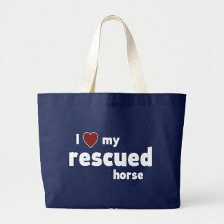 Gerettetes Pferd Jumbo Stoffbeutel