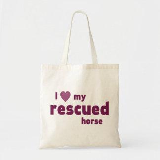Gerettetes Pferd Tragetasche