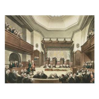 Gericht der allgemeinen Vorwände, Westminster Hall Postkarte