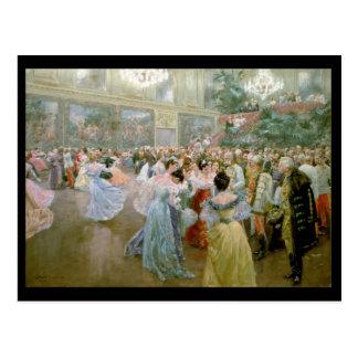 Gerichts-Ball bei Hofburg, 1900 Postkarte