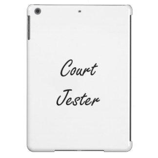 Gerichts-Spaßvogel-künstlerischer Job-Entwurf iPad Air Hülle