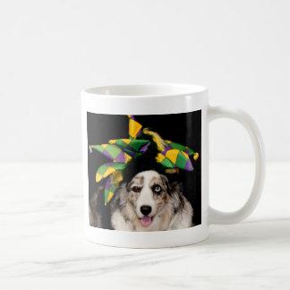 Gerichts-Spaßvogel-Wolljacken-WaliserCorgi Kaffeetasse