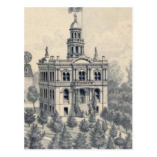 Gerichtsgebäude, Fresno Postkarte