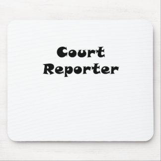Gerichtsschreiber Mousepad