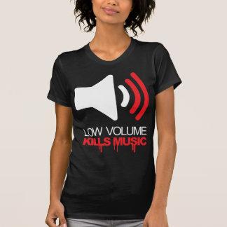 Geringe Lautstärke tötet Musik Tshirts