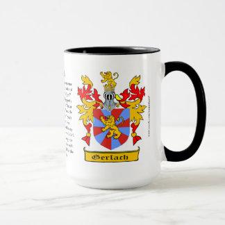 Gerlach Familien-Wappen Tasse
