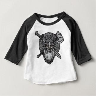 germanische nordische Skandinavier Wikinger-Mannes Baby T-shirt
