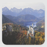 Germany, Bavaria, Neuschwanstein Castle. King Sticker