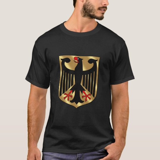 Germany coat of arms - black eagle T-Shirt