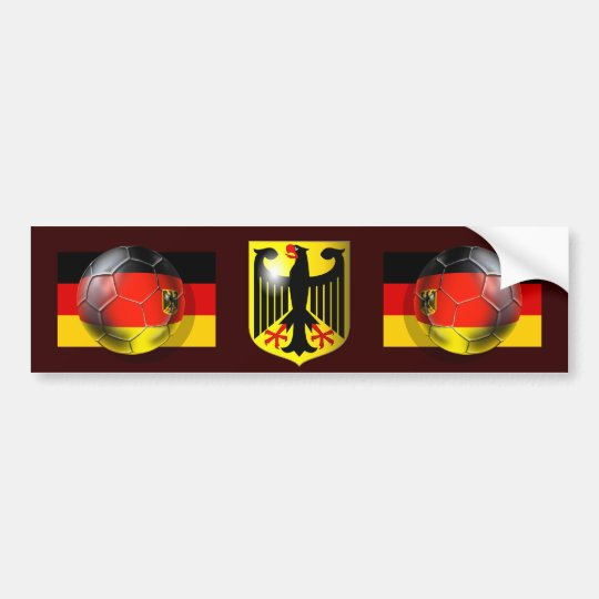 Germany coat OF of arm football of signal autostic Autoaufkleber