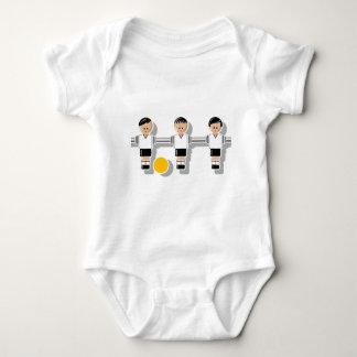 Germany foosball baby strampler