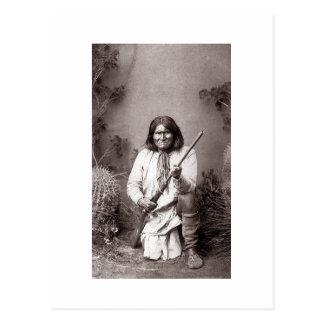 Geronimo - Vintag Postkarte