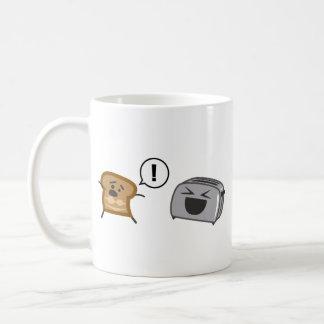 Gerösteter Toast Tanlines Kaffeetasse