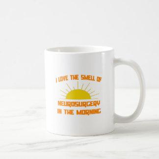 Geruch der Neurochirurgie morgens Kaffeetasse