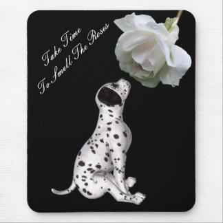 Geruch-Rosen-Welpen-Rose Inspirational Mousepad
