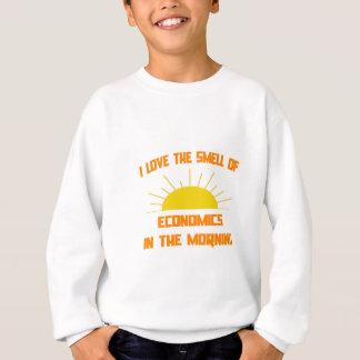 Geruch von Wirtschaft morgens Sweatshirt