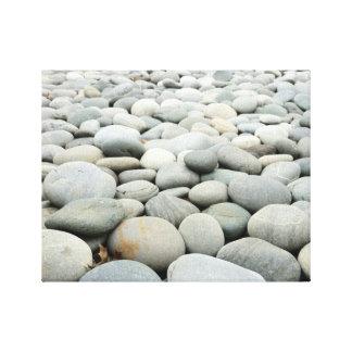 Gerundete Felsen Leinwanddruck