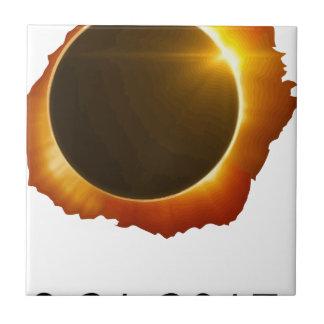Gesamt--Solar-Eklipse Keramikfliese