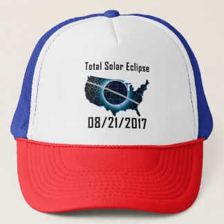 Gesamtfernlastfahrer-Hut der Sonnenfinsternis-2017 Truckerkappe