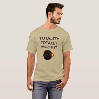 Gesamtheit total wert sie, Solareklipse-T - Shirt