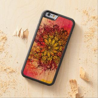 Gesamtheits-Mandala Bumper iPhone 6 Hülle Kirsche