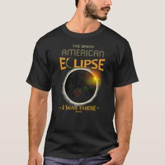 Gesamtheits-Solareklipse war ich dort GeschichtsT T-Shirt