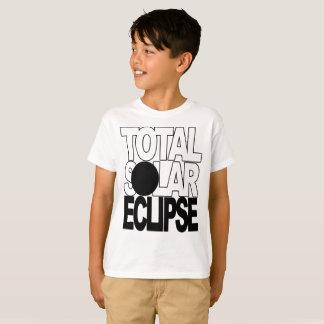 Gesamtsolareklipse-coole Kinder-Reihe T-Shirt