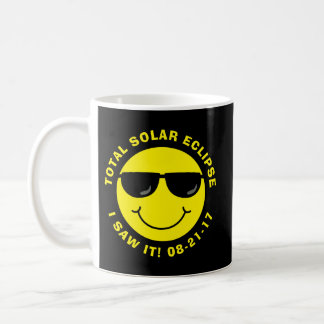 Gesamtsolareklipse-cooler Smiley Kaffeetasse