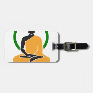 GesamtZen - Frieden, Ruhe, Entspannung Gepäckanhänger
