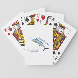 Gesang der Blues-Spielkarten Spielkarten