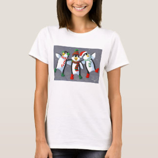 Gesang-Pinguine T-Shirt