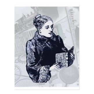 Gesang Postkarte