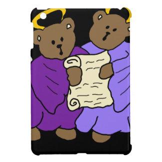Gesangteddy-Bärn-Engel in den lila Roben iPad Mini Hülle
