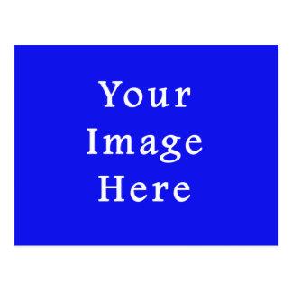 Gesättigte blaue Schablone Chanukkas Chanukah Postkarte