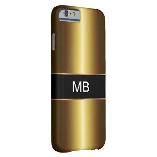 Geschäft der Männer Gold Barely There iPhone 6 Hülle