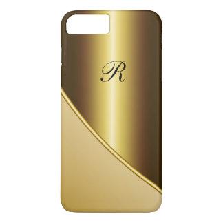 Geschäft der Männer Gold iPhone 7 Plus Hülle