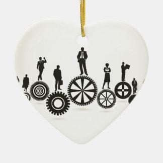Geschäft ein Gangrad Keramik Ornament
