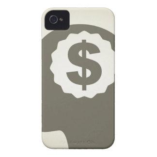 Geschäft ein Kopf iPhone 4 Case-Mate Hülle